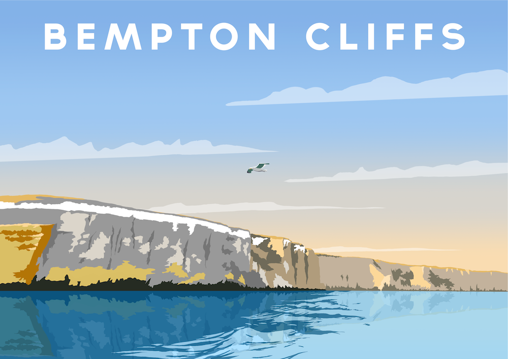Bempton Cliffs Art Print