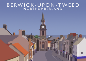 Berwick-upon-Tweed Art Print