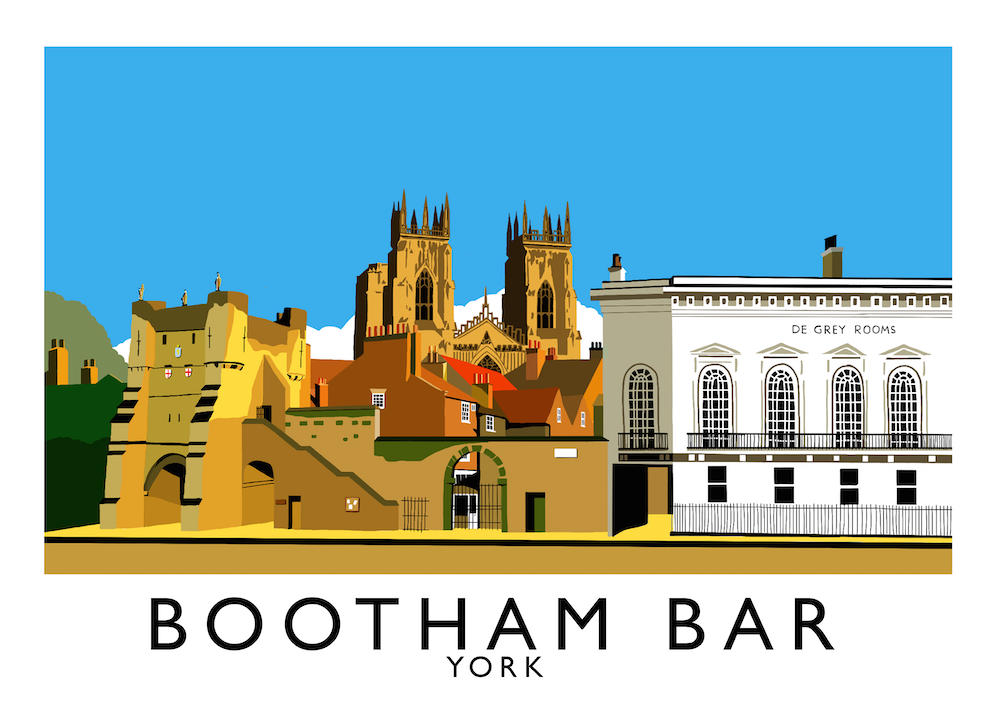 Bootham Bar, York Art Print