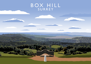 Box Hill Art Print