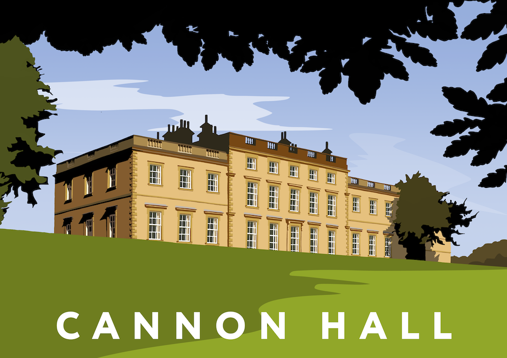 Cannon Hall Art Print
