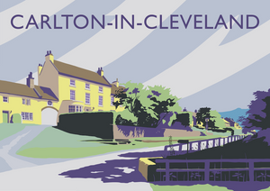 Carlton-in-Cleveland Art Print