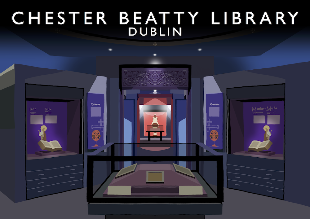 Chester Beatty Library Art Print