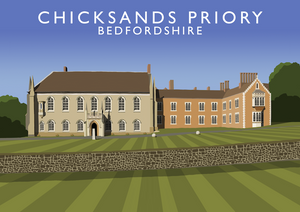Chicksands Priory Art Print