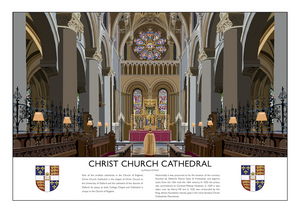 Christ Church Cathedral Art Print