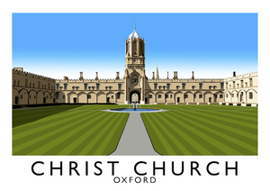 Christ Church, Oxford Art Print