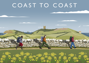 Coast to Coast Walk Art Print