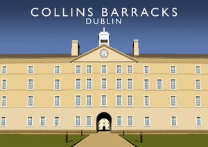 Collins Barracks Art Print