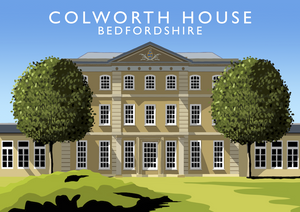 Colworth House Art Print