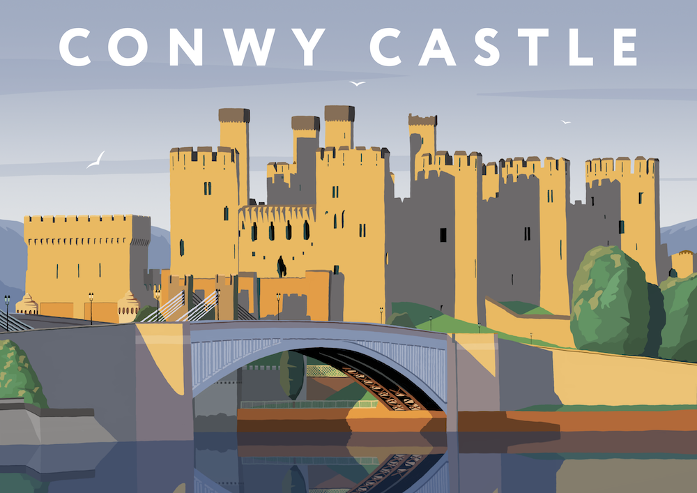 Conwy Castle Art Print