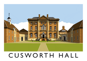 Cusworth Hall Art Print
