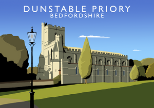 Dunstable Priory Art Print