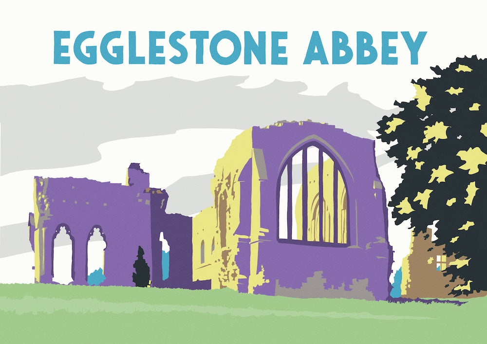 Egglestone Abbey Art Print