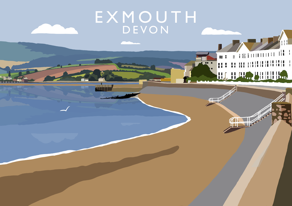 Exmouth Art Print