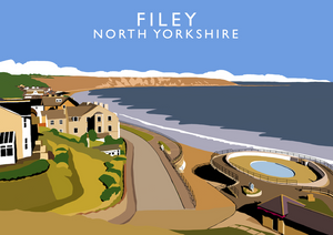 Filey Art Print