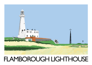 Flamborough Lighthouse Art Print
