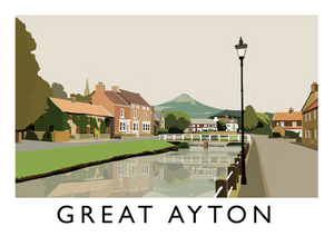 Great Ayton Art Print