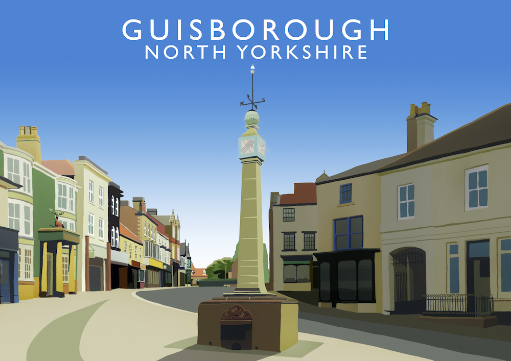 Guisborough Art Print