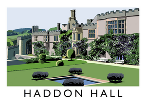 Haddon Hall Art Print