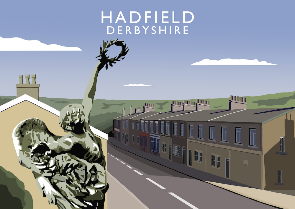 Hadfield Art Print
