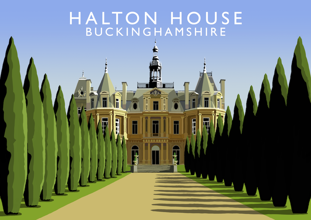 Halton House Art Print