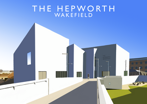 The Hepworth, Wakefield Art Print