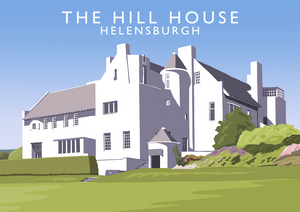 Hill House Art Print