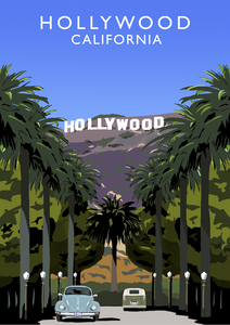 Hollywood Art Print