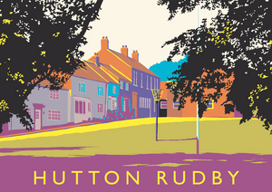 Hutton Rudby Art Print