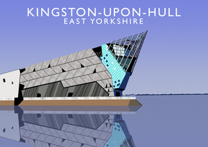 KIngston-upon-Hull Art Print