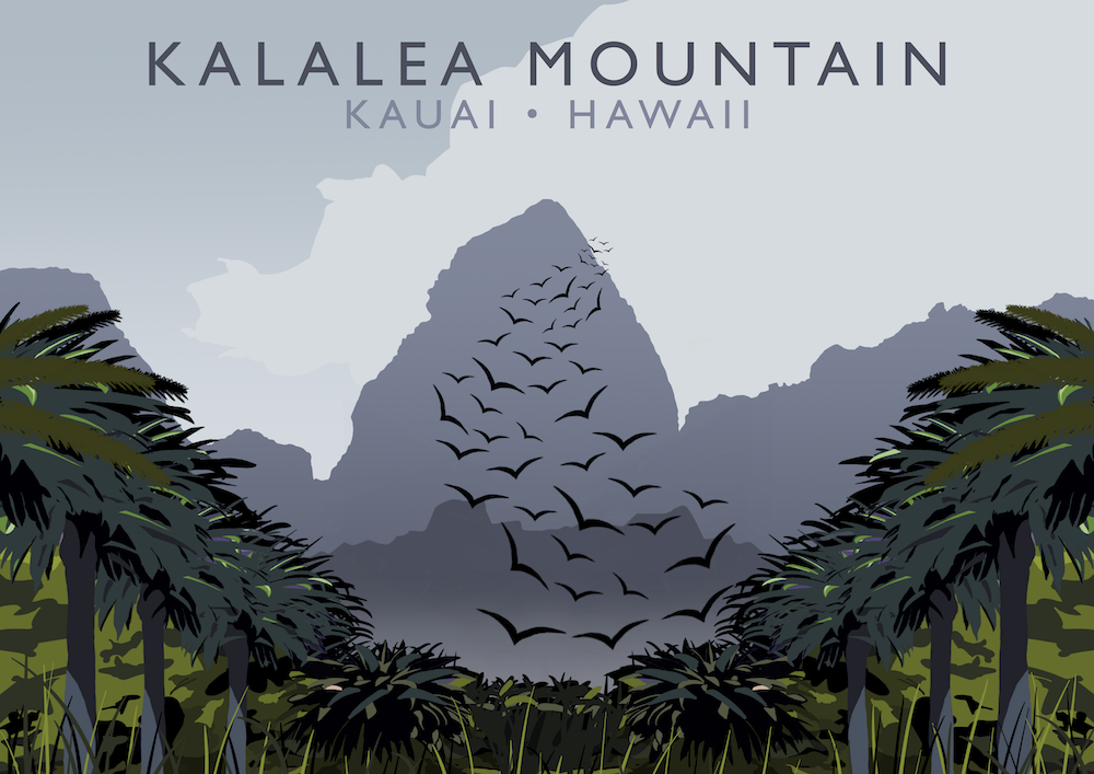 Kalalea Mountain Art Print