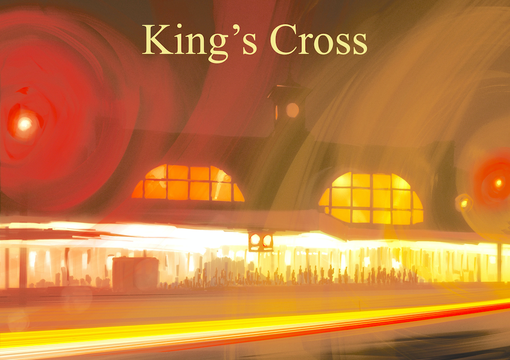 King's Cross Art Print