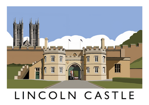 Lincoln Castle Art Print