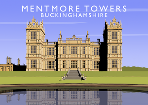 Mentmore Towers Art Print
