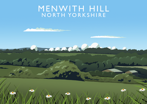 Menwith Hill Art Print