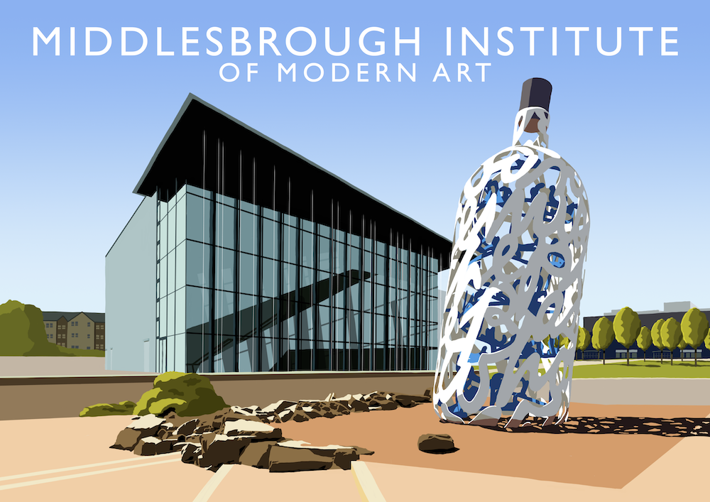 Middlesbrough Institute of Modern Art Art Print