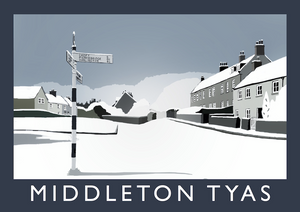 Middleton Tyas Art Print