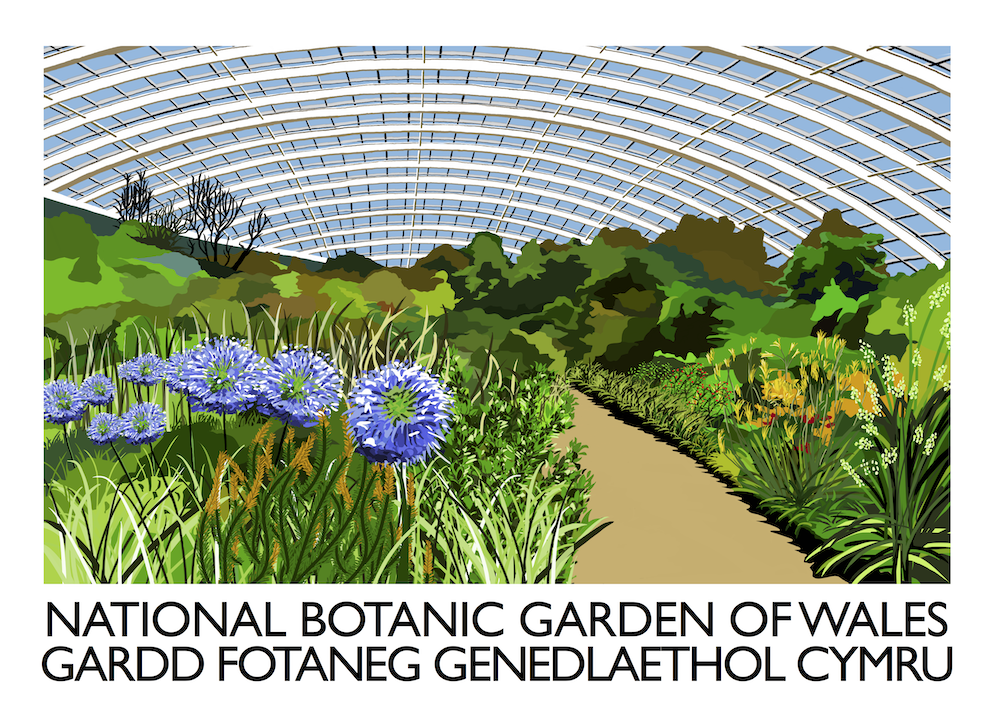 National Botanic Garden of Wales Art Print