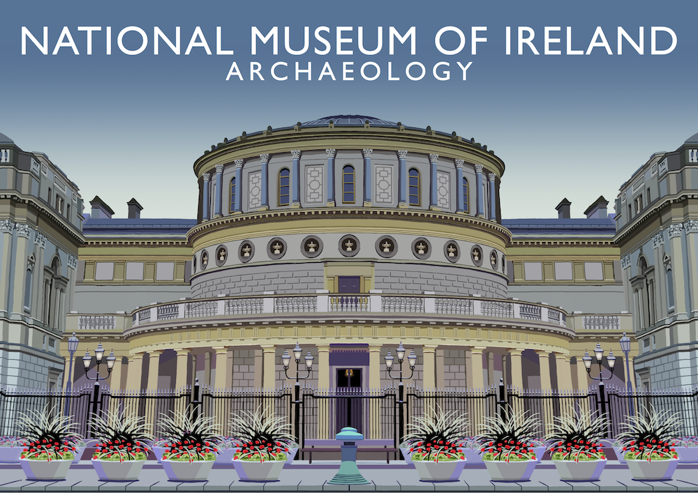 National Museum of Ireland (Archaeology) Art Print