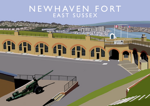 Newhaven Fort Art Print