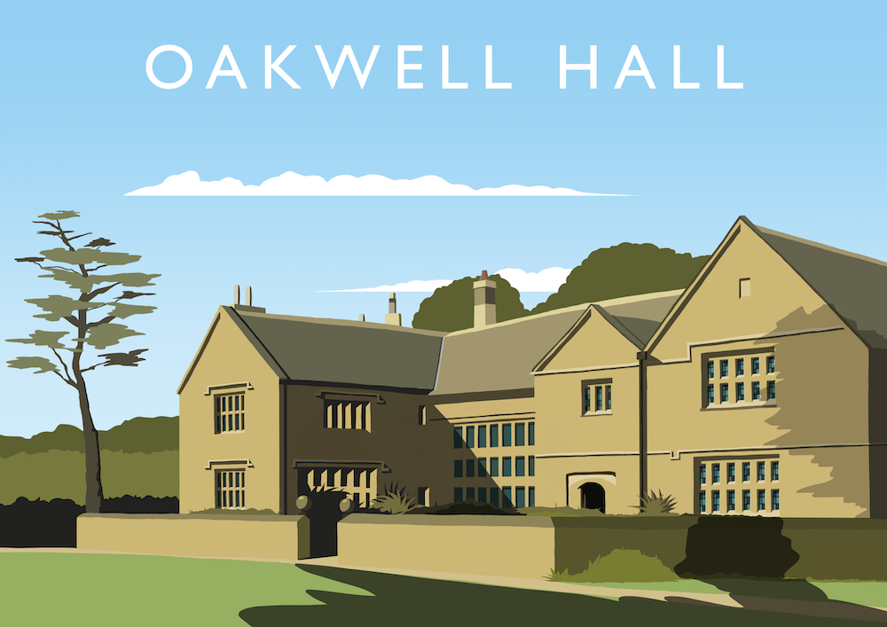Oakwell Hall Art Print
