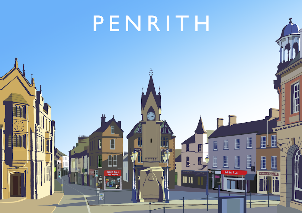 Penrith Art Print