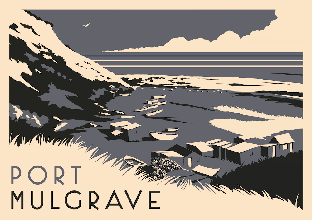 Port Mulgrave Art Print