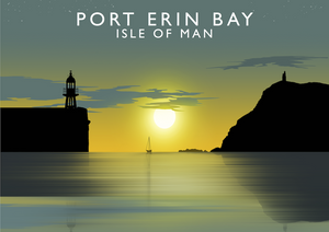 Port Erin Bay Art Print