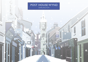 Post House Wynd, Darlington Art Print