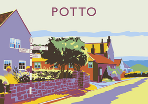 Potto Art Print