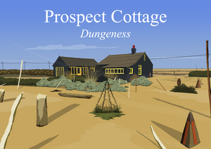 Prospect Cottage Art Print