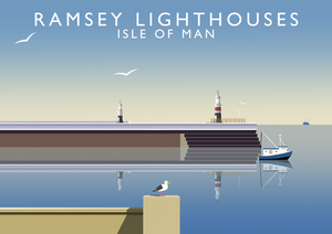 Ramsey Lighthouses Art Print