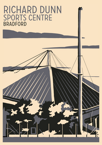 Richard Dunn Sports Centre, Bradford Art Print