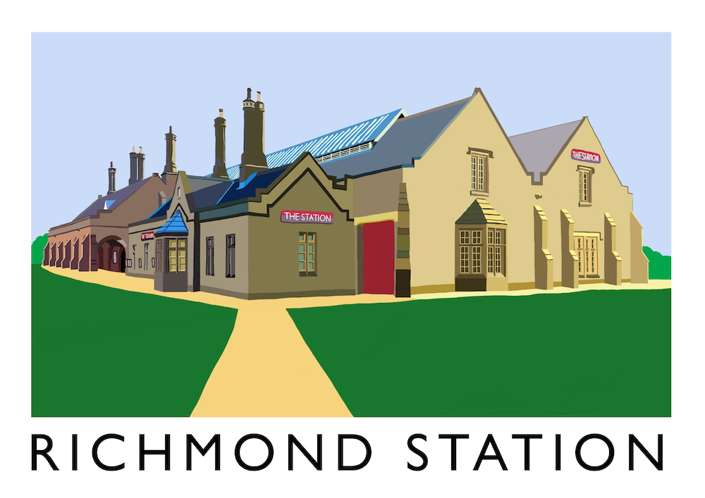Richmond Station Art Print
